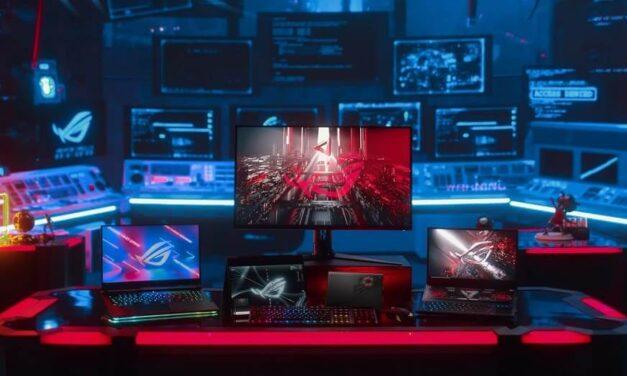 ASUS Republic of Gamers presenta una asombrosa selección de armamento gaming en CES 2021