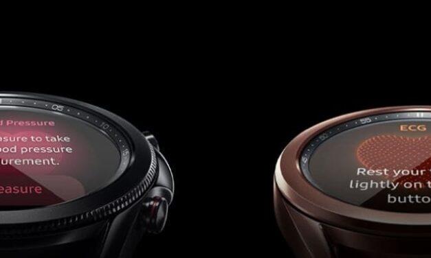 Cómo medir la presión arterial o realizar un electrocardiograma con Galaxy Watch Active2 y Watch3