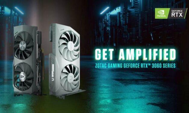 ZOTAC GAMING anuncia la nueva serie GeForce RTX 3060