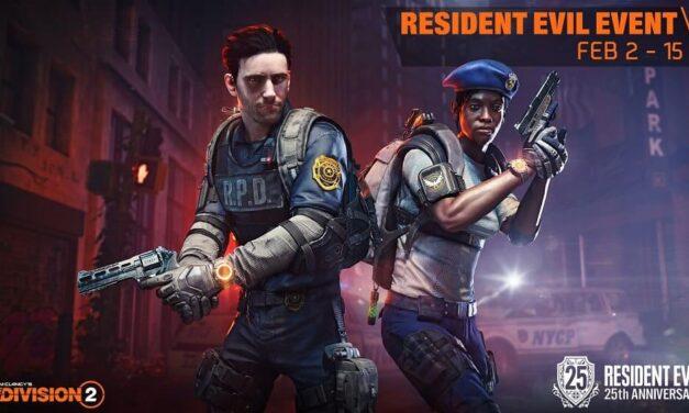 Tom Clancy's The Division 2 conmemora el 25 aniversario de Resident Evil