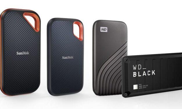 Western Digital renueva su gama de SSD portátiles de alta capacidad