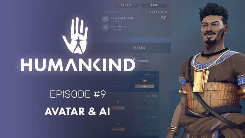 Los Avatares y la configuración de la IA en Humankind en un nuevo tráiler