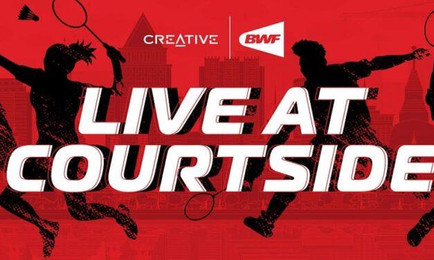 Creative lleva el audio holográfico a las retransmisiones deportivas de la BWF