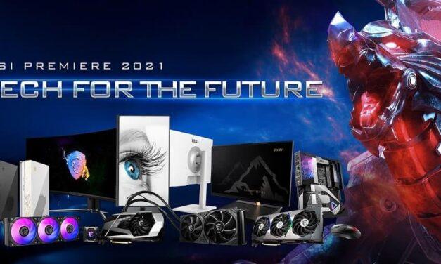 MSI presenta las innovaciones en Hardware Gaming y Computing en el evento MSI Premiere 2021: Tecnología para el futuro