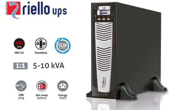 Riello UPS recomienda su gama de SAIs SDU Sentinel Dual para aplicaciones vitales que requieran la máxima fiabilidad