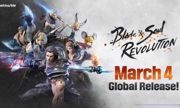 Blade & Soul Revolution llegará a dispositivos móviles el 4 de marzo