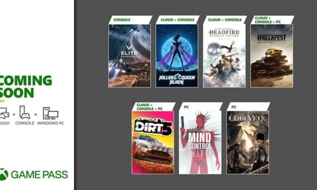Próximamente en Xbox Game Pass: Dirt 5, Killer Queen Black, Wreckfest y más