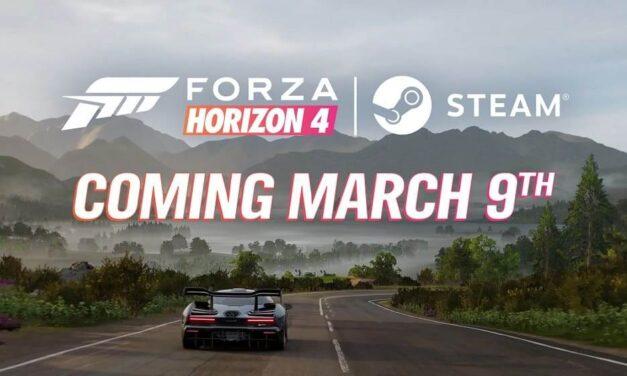 """""""Forza Horizon 4"""" correrá en Steam el 9 de marzo"""