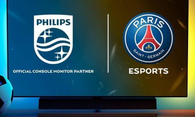 El equipo de eSports París Saint-Germain da la bienvenida a Philips monitors como proveedor oficial de monitores gaming