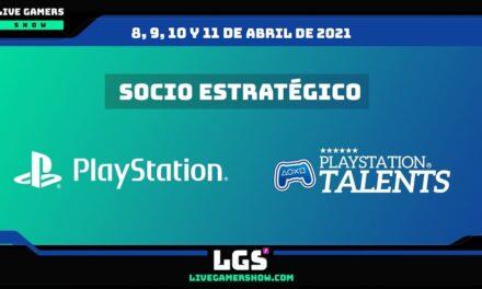 PlayStation Talents se suma a Live Gamers Show como socio estratégico