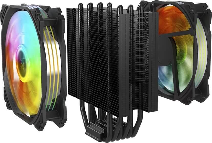 Nfortec presenta Sculptor y Nebulus, descubre su nuevo disipador por aire de alto rendimiento y sus nuevos ventiladores ARGB