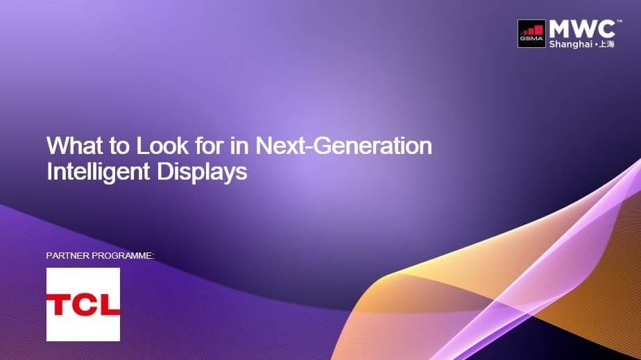 TCL habla del futuro de las pantallas inteligentes en MWC Shangai