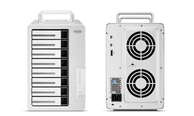TerraMaster lanza D8 Thunderbolt 3 de 8 bahías a 40Gbps, ideal para vídeos 4K