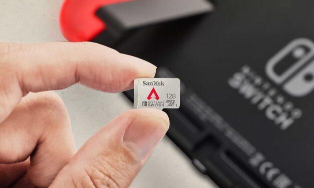 Western Digital lanza una nueva tarjeta de memoria Apex Legends para Nintendo Switch