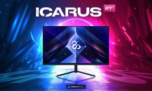 """Newskill presenta su nuevo monitor Icarus 27"""" QHD con 165HZ que te harán disfrutar del gaming al máximo"""