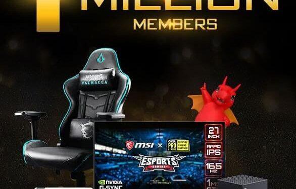 MSI celebra haber alcanzado un millón de miembros en Reward Program