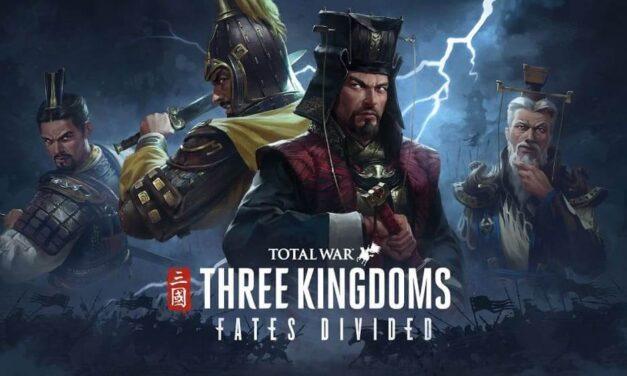 Total War: Three Kingdoms – Fates Divided ya está disponible