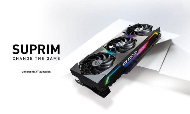 Change The Game: Conoce las nuevas tarjetas gráficas SUPRIM
