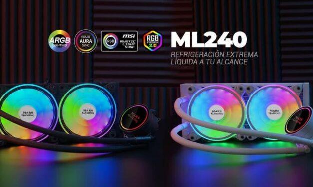 Nuevo kit de refrigeración líquida ML240 de Mars Gaming, refrigeración extrema líquida a tu alcance