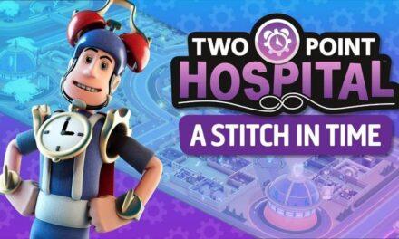 Viaja en el espacio y el tiempo con el nuevo DLC de Two Point Hospital, ya disponible en Steam