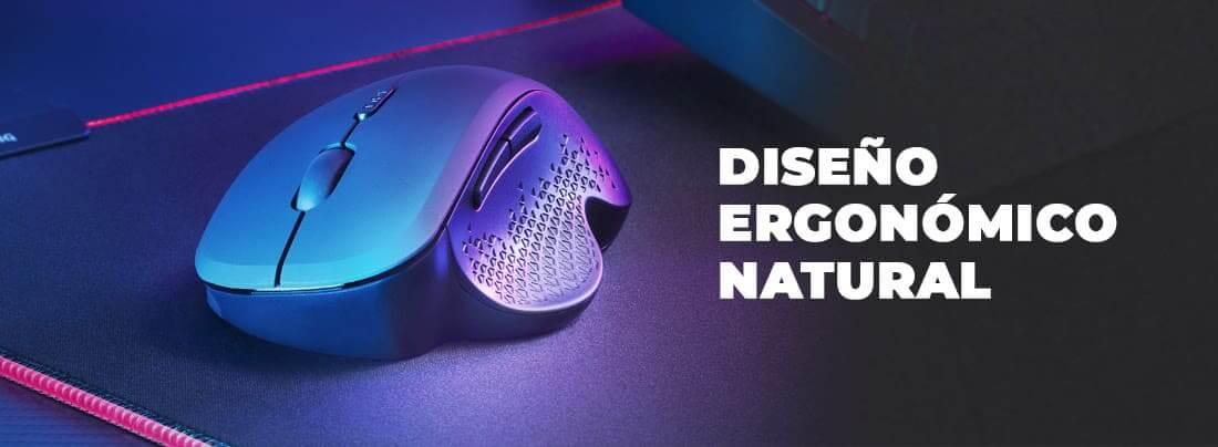 Nuevo ratón inalámbrico MMWERGO, ergonomía sin límites