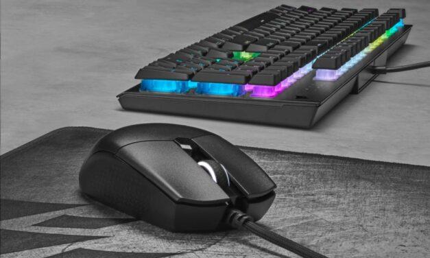 Diseño ligero, rendimiento contundente: CORSAIR presenta el ratón gaming KATAR PRO XT y la alfombrilla MM700 RGB extensa