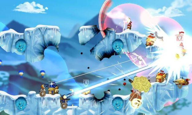 El aclamado RTS en 2D Cannon Brawl llega hoy a Nintendo Switch