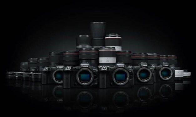 Canon presenta una actualización de firmware para varias cámaras profesionales