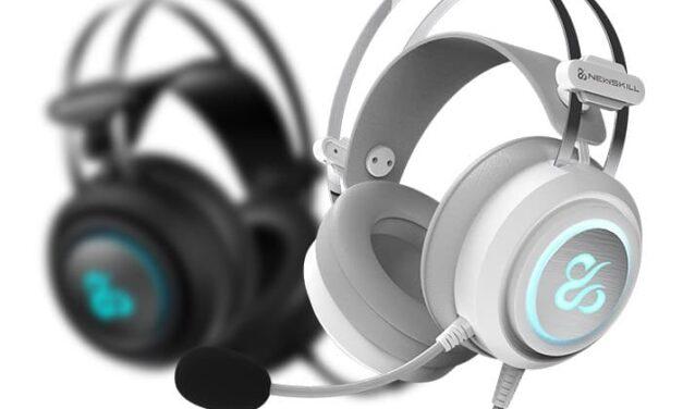 Newskill lanza en color blanco, dos de sus últimos auriculares en incorporarse al catálogo: Drakain Ivory y Scylla Ivory
