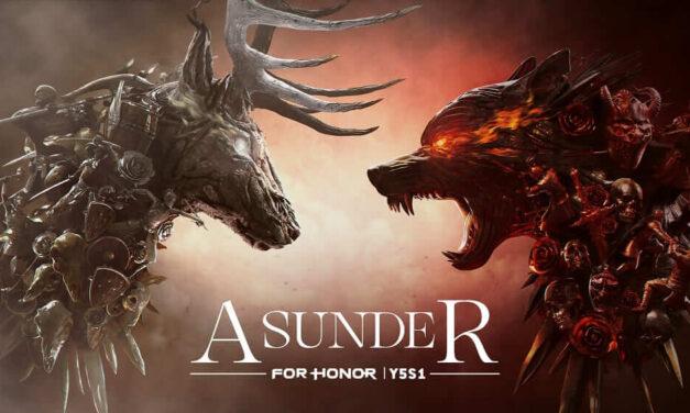 """For Honor anuncia el lanzamiento de """"Asunder"""", la Season 1 del Year 5, con un evento que comenzará el 11 de marzo"""