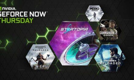 GeForce NOW anuncia 12 nuevos títulos y descuentos en juegos