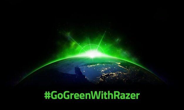 Razer se compromete a un futuro más verde y sostenible para que todos jueguen