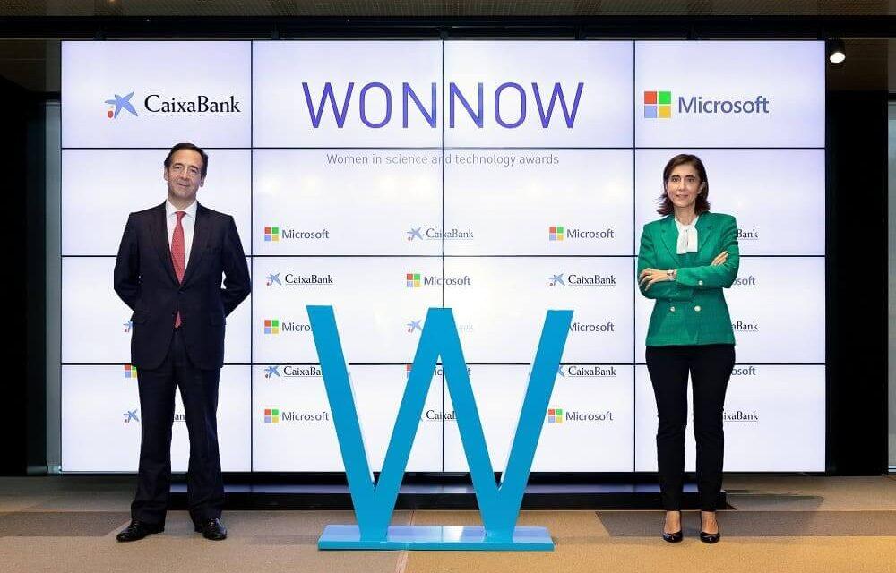 CaixaBank y Microsoft Ibérica premian a las mejores estudiantes STEM de España