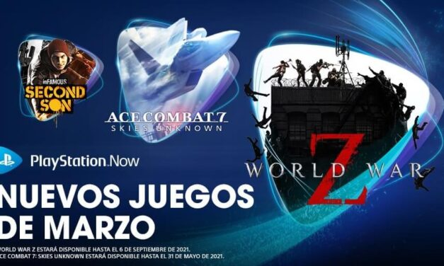 World War Z, Ace Combat 7: Skies Unknown e inFAMOUS Second Son entre las novedades de PlayStation Now en marzo