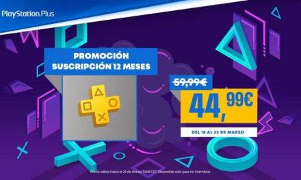 Las suscripciones de 12 meses de PlayStation Plus y PlayStation Now disponibles a 44,99€ por tiempo limitado en PlayStation Store