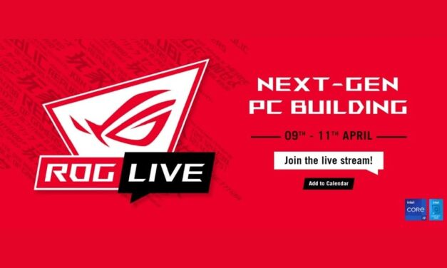 ASUS Republic of Gamers anuncia ROG Live 2021