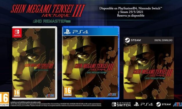 Shin Megami Tensei III Nocturne HD Remaster ya a la venta para PS4, PC y Switch