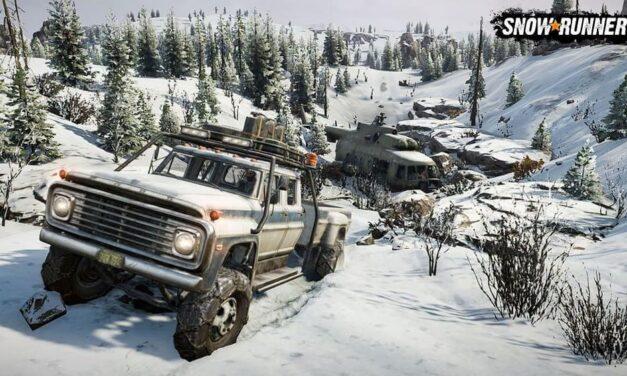 SnowRunner se prepara para su estreno en Switch