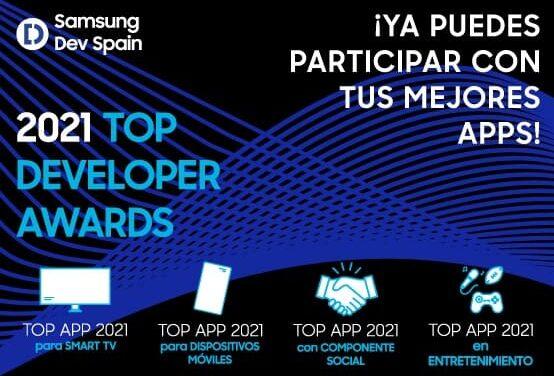 Top Developer Awards 2021: Samsung premia las mejores apps de su comunidad de desarrolladores
