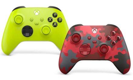 Microsoft presenta dos nuevos mandos inalámbricos de Xbox: Alto voltaje y Daystrike Camo Special Edition