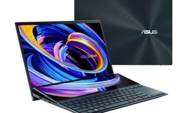 ASUS lanza su último modelo ZenBook con dos pantallas y ScreenPad Plus basculante