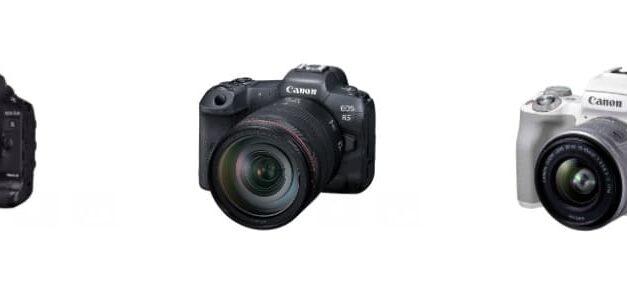Canon celebra 18 años consecutivos como líder mundial del mercado de cámaras digitales de objetivos intercambiables