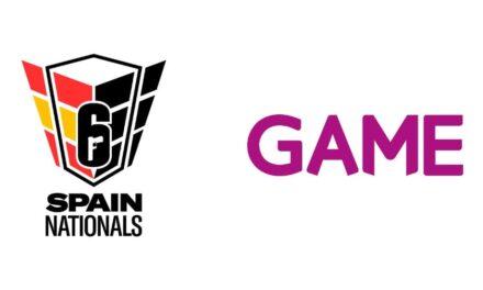 GAME se convierte en patrocinador oficial de la R6 Spain Nationals Season 3