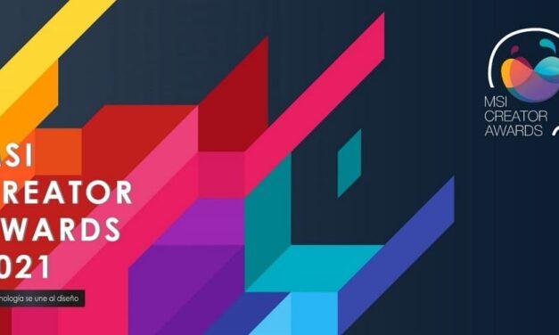 MSI invita a todos los creadores del mundo a participar en los MSI Creator Awards 2021