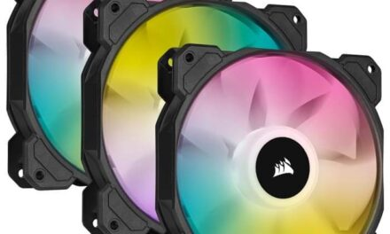 CORSAIR lanza la serie de ventiladores SP RGB ELITE