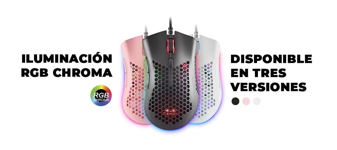 Ratón gaming premium MMEX, el ratón premium más avanzado a tu alcance