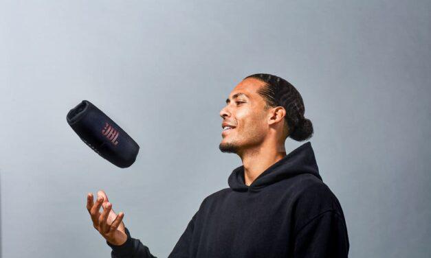 La Estrella mundial Virgil van Dijk, se une a JBL como embajador global de la marca