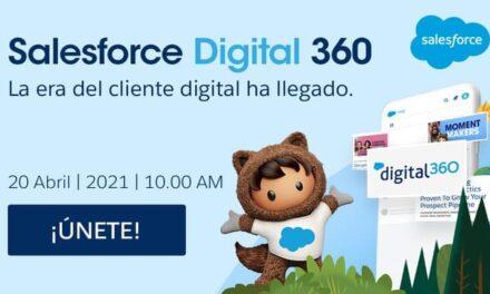 Salesforce muestra toda la capacidad de su plataforma Digital 360