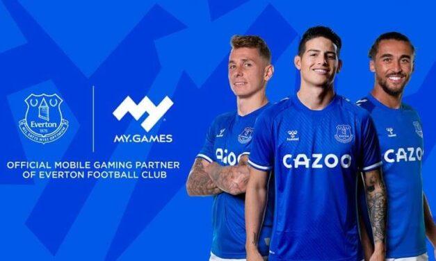 Everton Football Club y MY.GAMES firman un acuerdo estratégico lleno de videojuegos