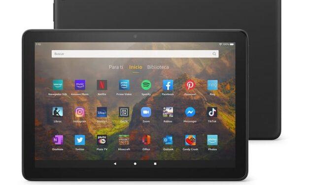 Amazon lanza el nuevo tablet Fire HD 10 en España